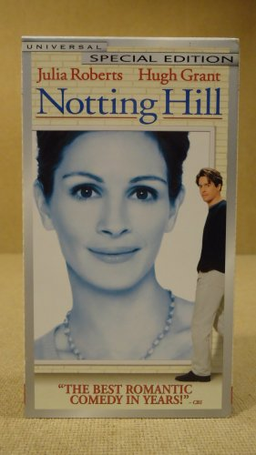 Universal Notting Hill VHS Movie  * Plastic *