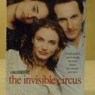 New Line The Invisible Circus VHS Movie  * Plastic *