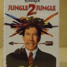Disney Jungle 2 Jungle VHS Movie  * Plastic *