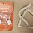 Archer Telephone Duplex Jacks and Cord 279-357A * Plastic