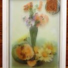 Generic Framed Art 14in x 9 1/2in x1in 60-57d * Glass Plastic