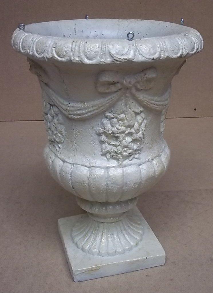 Generic Decorative Urn 17 1/2in x 12 1/2in x 12 1/2in 214-52rt * Styrofoam