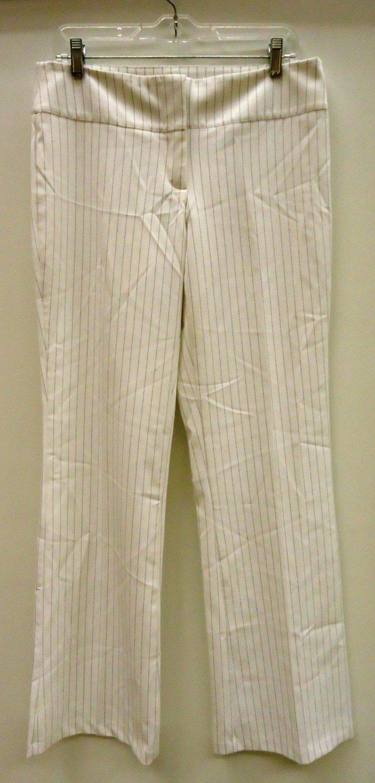Suzy Dress Pants Polyester Female Adult 9/10 White Stripes 64-54hg