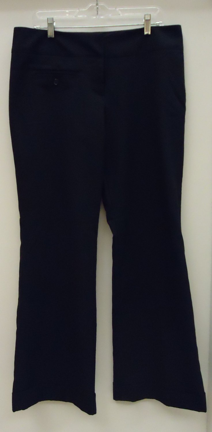 Suzy Dress Pants Polyester Female Adult 13/14 Black Solid 012-13S