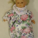 Max Zapf 22-56mz Vintage Baby Doll Opening Eyes 22in Plastic Fabric