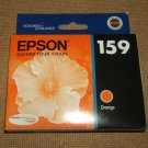 Espon Ink Cartridge Genuine OEM 159 Orange T159920 * Plastic