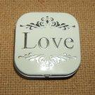Generic Love Tin 1 1/2in x 1 1/2in lt876 * Metal