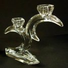 Designer Taper Candle Holder 8in x 7in x 2in 13-115ty Vintage Crystal