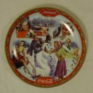 Bradford Exchange 18851A * Coca-Cola Collector Plate 5 3/4in January 1999 Porcelain