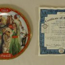 Bradford Exchange 8293A * Coca-Cola Collector Plate 5 3/4in March 1999 Porcelain