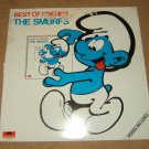 Polydor The Smurfs Record Best of Friends Canada PTV-1023 Vintage Plastic