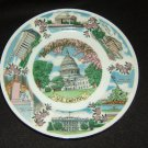 Capsco Vintage Collector Plate 7-3/4in Diameter US Capital China