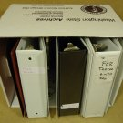 Professional Box of 7 Binders/Notebooks 2in 16in x 12in x 11in White/Other