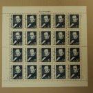 USPS Scott 2194 $1 1989 John Hopkins Full Sheet 20 Stamps Mint NH