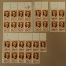 USPS Scott 2038 20c 1983 Joseph Priestley Lot of 4 Plate Block 27 Stamps Mint NH