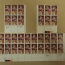 USPS Scott 2250 22c 1987 Enrico Caruso Lot of 3 Plate Block 32 Stamps Mint NH
