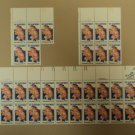 USPS Scott 2012 20c 1982 The Barrymores Performing Arts Lot of 3 Plate Block