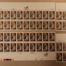 USPS Scott 2026 20c 1982 Christmas Tiepolo Lot of 4 Mint NH Plate Block
