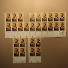 USPS Scott 2044 20c 1983 Scott Joplin Black Heritage Lot Of 3 Plate Block Mint