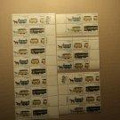 USPS Scott 2059-62 20c 1983 Streetcars Lot Of 4 Plate Block 38 Stamps Mint NH