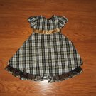 Kidture Dress 99% Polyester 1% Lurex Female Kids 4T Multi-Color Plaids & Checks