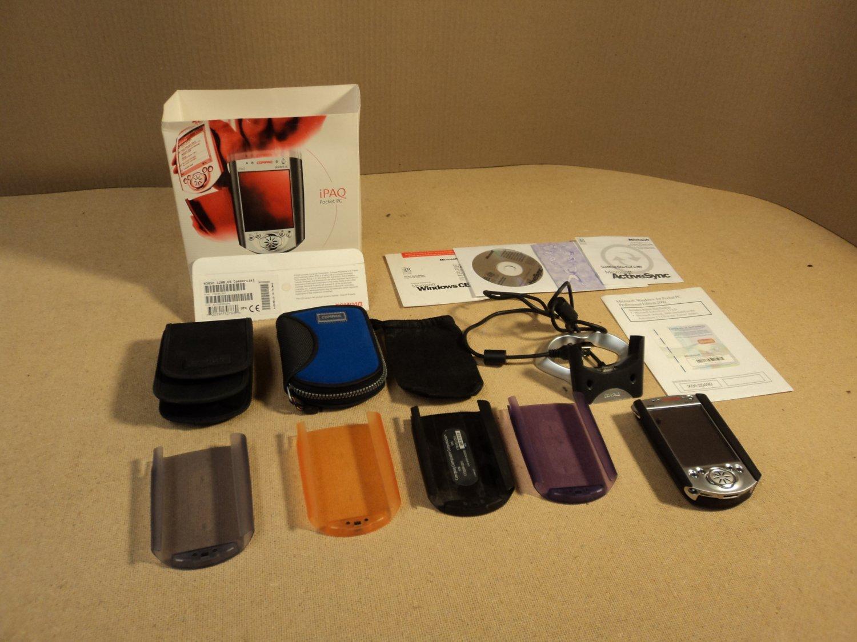 Compaq Color Pocket PC Black/Silver H3650