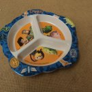 Playtex Baby Toddler Plate 8in x 1in Multi-Color Toy Story Plastic