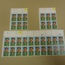 USPS Scott 2377 25c U.S. Open Champion 1913 Stamps Francis Ouimet Plate Block