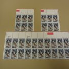 USPS Scott 2369 22c 1988 Olympics Stamps Set of 3 Plate Block 32 Stamps