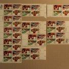 USPS Scott C105-08 40c 1983 Summer Olympics 84 Lot Of 7 Plate Block Mint NH
