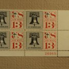 USPS Scott C62 13c Let Freedom Ring Liberty Bell 1961 Mint NH Plate Block