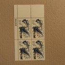USPS Scott C71 20c Audubon Columbia Jays 1967 Mint NH Plate Block 4 Stamps