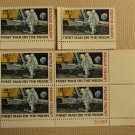 USPS Scott C76 10c First Man On The Moon 1969 Lot Of 3 Plate Block Mint NH