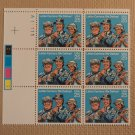 USPS Scott 2420 25c Letter Carriers We Deliver 1989 Mint NH Plate Block 6 Stamps