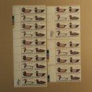 USPS Scott 2138-41 22c 1984 Folk Art Lot Of 4 Plate Block 38 Stamps Mint NH