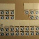 USPS Scott 2145 22c 1985 Ameripex 86 Lot Of 3 Plate Block 27 Stamps Mint NH