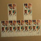 USPS Scott 2082-85 20c 1984 Summer Olympics Lot Of 3 Plate Block Mint NH
