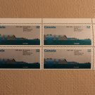 Canada Post Scott 1015 32c St Lawrence Seaway 1959-1984 Mint NH Plate Block
