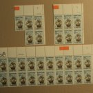 USPS Scott 2093 20c 1984 Roanoke Voyages Lot Of 3 Plate Block 31 Stamps Mint NH