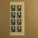 USPS Scott 2194 $1 John Hopkins 1989 Lot of 2 Plate Block 8 Stamps Mint NH