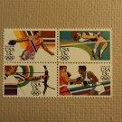 USPS Scott 2048-51 13c Summer Olympics 1984 Mint NH Block 4 Stamps