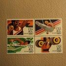 USPS Scott C105-08 40c Summer Olympics 1984 Mint NH Block 4 Stamps