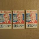 USPS Scott 1288Bc 15c Oliver Wendell Holmes 3 Books 1978 72 Stamps Mint Booklet