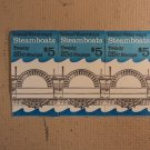 USPS Scott 2405-09 25c 1989 Steamboats 3 Books Of 20 60 Stamps 12 Panes