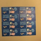 USPS Scott 2276a 22c 1987 Flag Over Fireworks 8 Books Of 20 160 Stamps 8 Panes