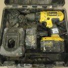 DeWalt 1/2in VSR Cordless Drill Kit 14.4V DC728