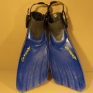 Tusa Scuba Fins Open Heel Blue/Black Size Regular Cetusy Symmetric