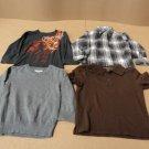 Place Shirts Lot Of 4 Cotton 100% Male Kids 3T Multi-Color