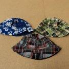 Designer Hats 6-7in Diameter Lot Of 3 Cotton 100% Male Kids 2T Multi-Color
