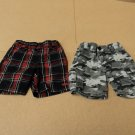 Hawk Shorts Lot Of 2 Cotton Polyester Male Kids 2-4 2T Multi-Color